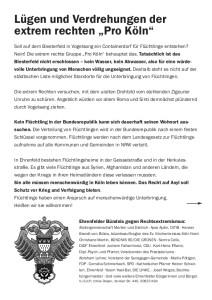 © Ehrenfelder Bündnis gegen Rechtsextremismus