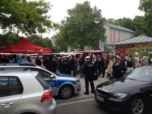 Wochenmarkt in Köln-Mülheim