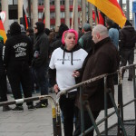 © Redaktion Kein Veedel für Rassismus - Fotoinfo: Blood & Honour-Aktivistin Ramona C. aus Kaiserslautern