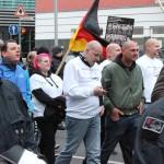 """© Redaktion Kein Veedel für Rassismus - Fotoinfo: Dominik Roeseler mit """"Division Braune Wölfe"""""""