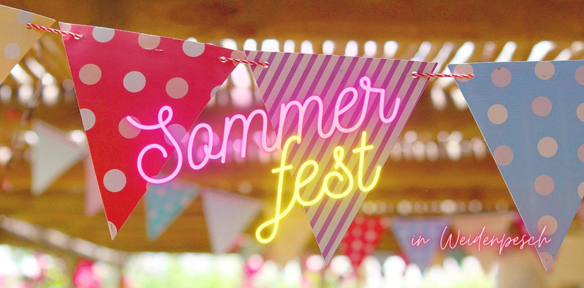 Sommerfest in Weidenpesch